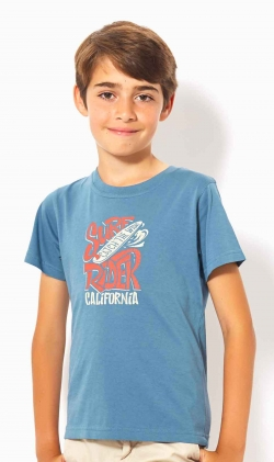 CAMISETA AZUL CALIFORNIA