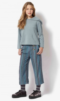 Pantalon azul stripes