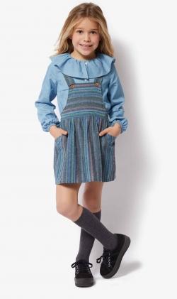 Pichi azul stripes