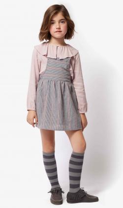 Pichi gris stripes