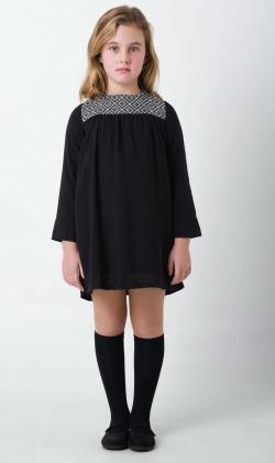 Vestido rombos Black