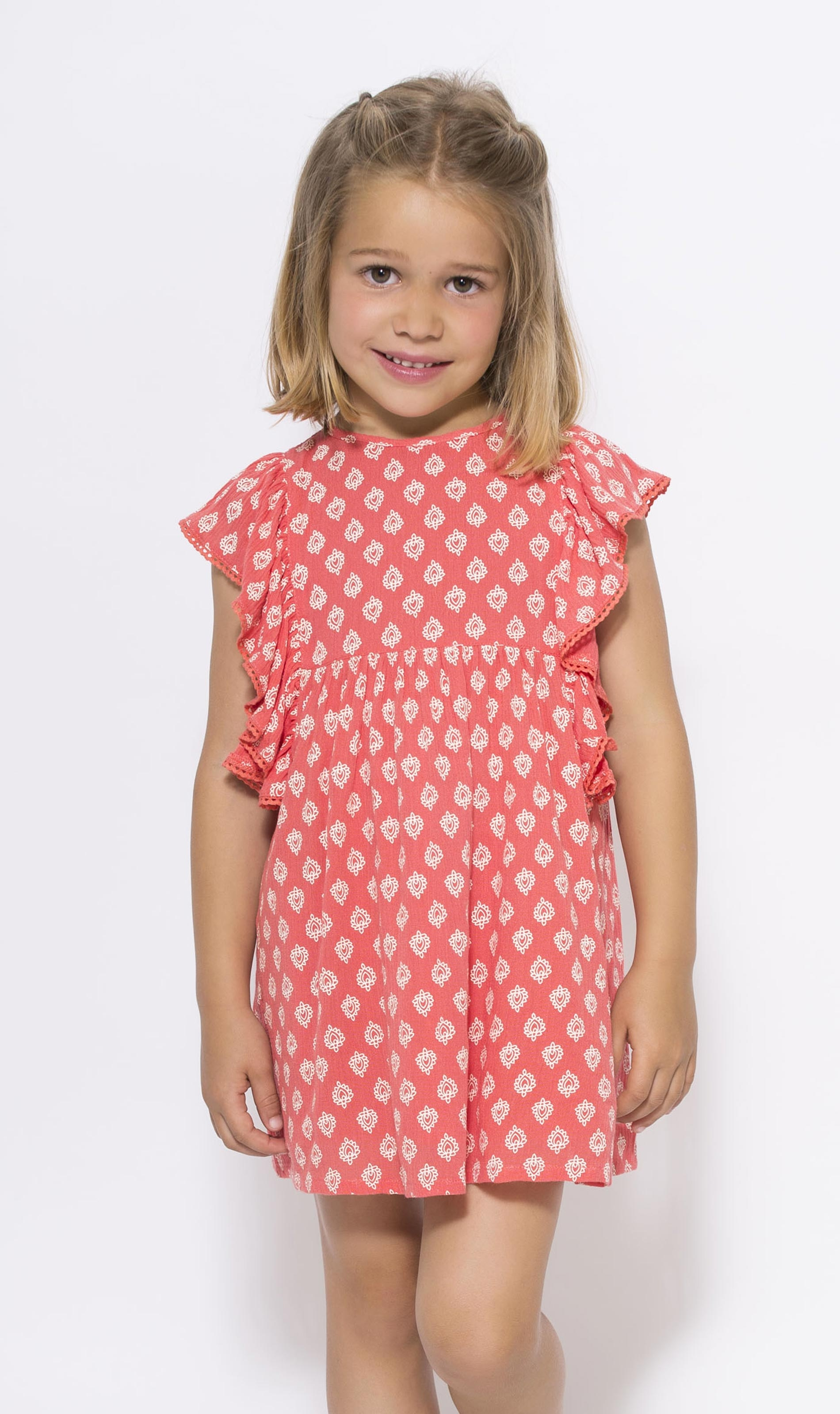 Vestido Coral print